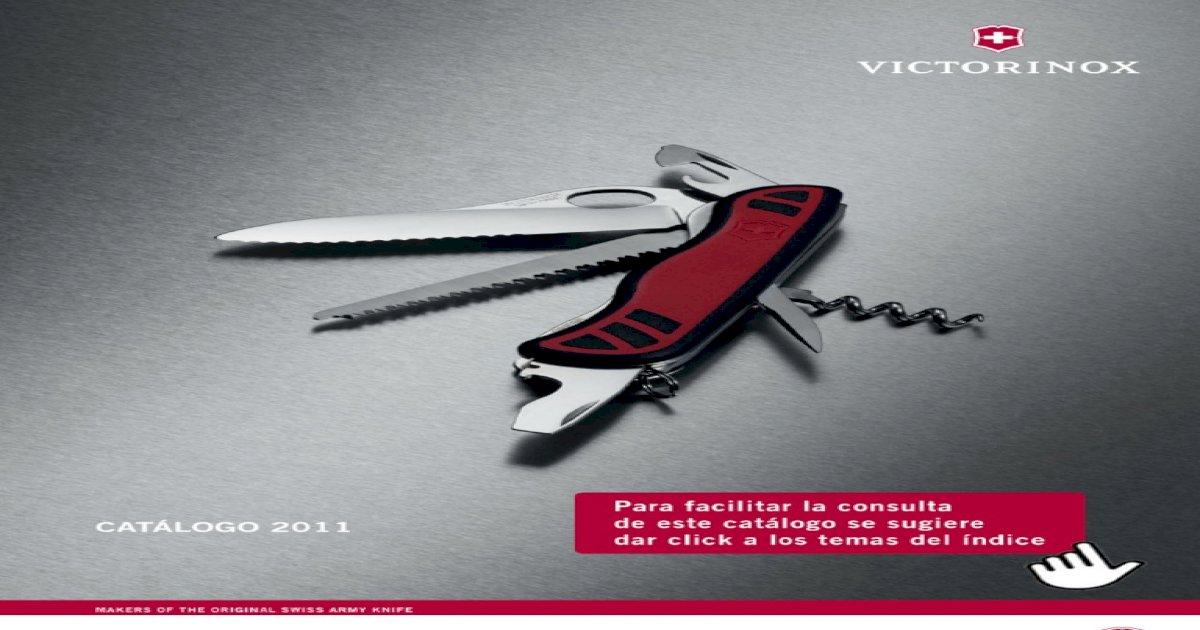 Victorinox Swiss Army Accesorios Conjunto de 6 Lupa Sacacorchos Destornillador