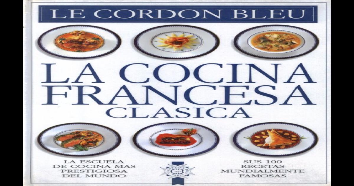 Cordon Bleu Cocina Francesa Clásica Pdf Document