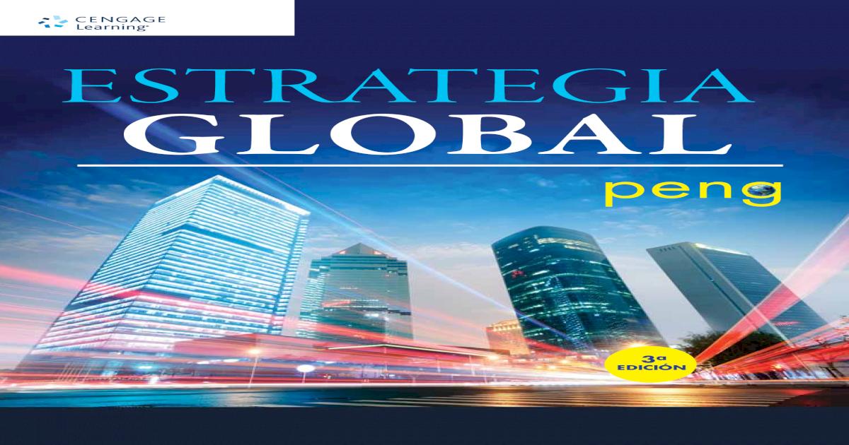 estrategia global mike peng pdf gratis